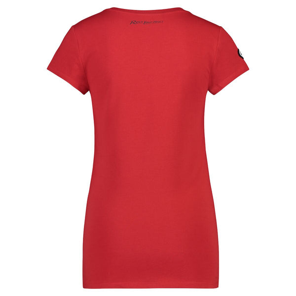 REVS Women's T-Shirt Red-Alf England