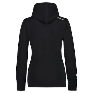 REVS Women's Zip-Up Hoody Black-Alf England