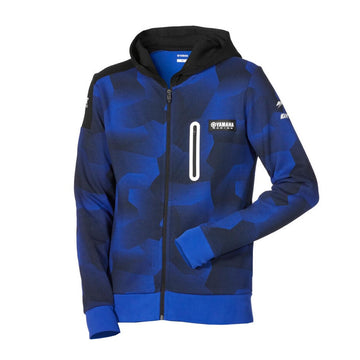 Paddock Blue Men's Zipped Camo Hoody