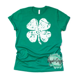 Rustic Clover - Pre-Order RTS 1/12/2021 Screen Print Transfer