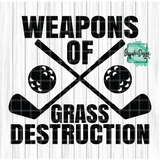 Weapons of Grass Destruction - RTS Screen Print Transfer
