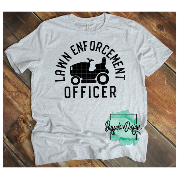 Lawn Enforcement Officer - RTS Screen Print Transfer