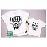 Queen Bee & Bae Bee - RTS Screen Print Transfer