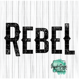 Rebel - RTS Screen Print Transfer