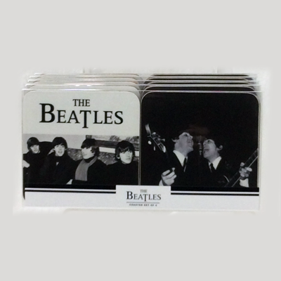 The Beatles Coaster Set