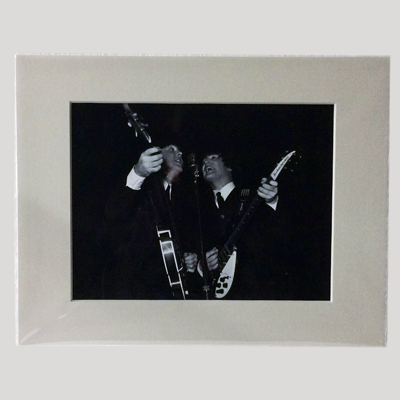 Paul McCartney and John Lennon Print