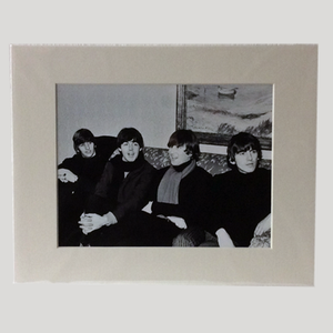 Beatles backstage print
