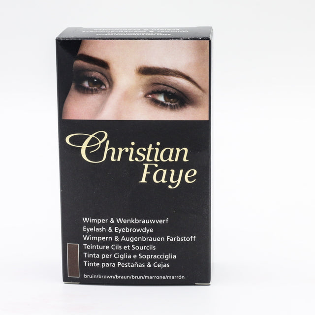 Christian Faye Eyebrow Dye BROWN