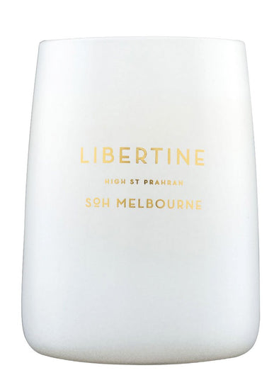 Libertine White Matte Soy Candle