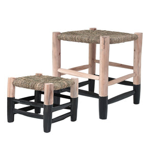 Moroccan stool Set of 2