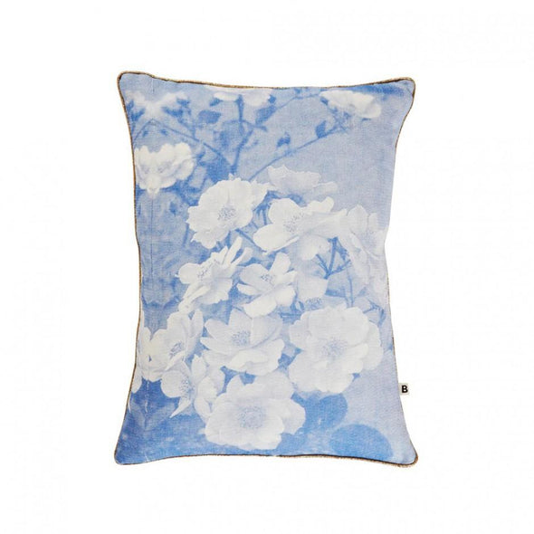 Garden Rose Blue Cushion 40x30cm
