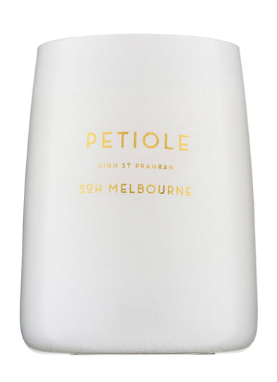 Petiole White Matte Soy Candle
