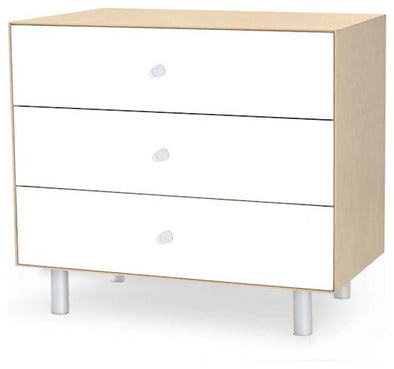 Oeuf Merlin 3 Drawer Dresser Birch - Classic Base