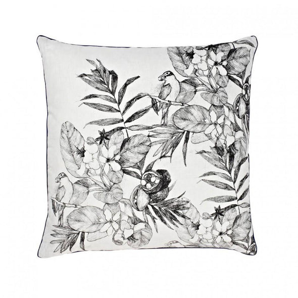 Daintree Grey 60cm Cushion