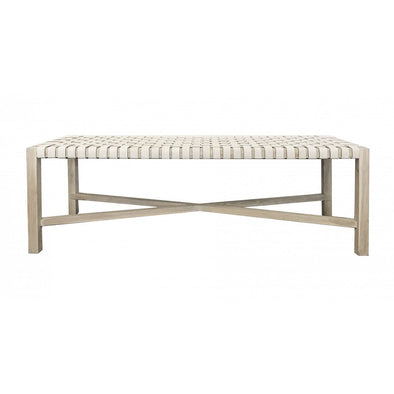 Alf Bench White