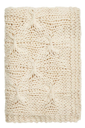 Alka Knitted Throw