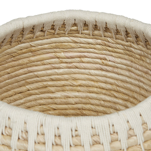 Arabella Rope Round Set 2 Baskets