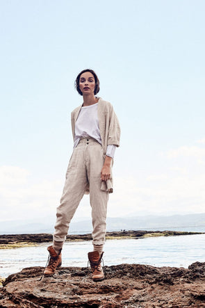 Canvas Pants - Linen