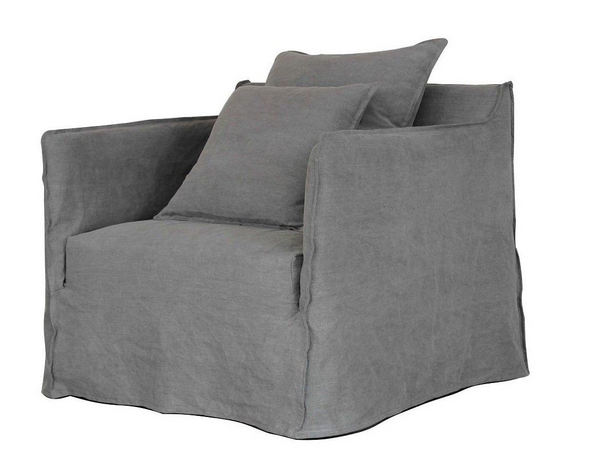 Casper Armchair Winter Dark Grey