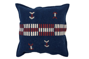 Crossing Cushion Indigo With Inner