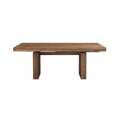 Ethnicraft Double extension dining table