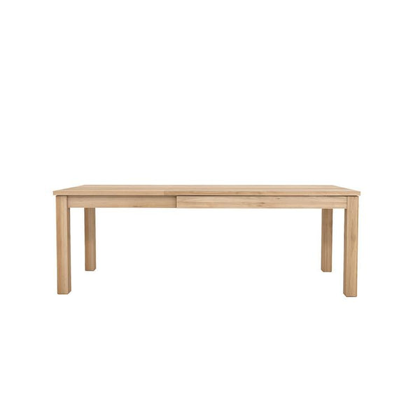 Ethnicraft Straight Extension Dining Tables