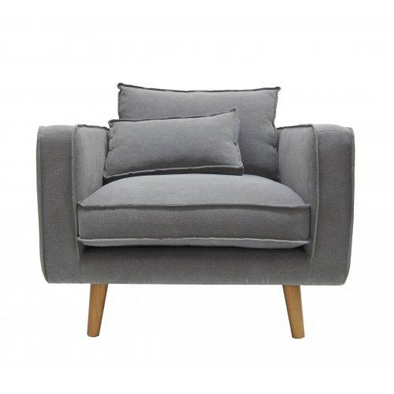 George Arm Chair Grey