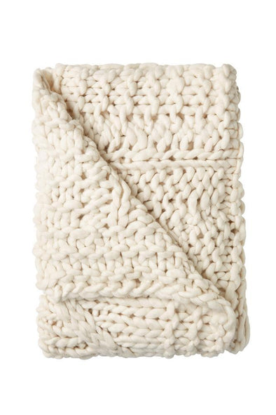 Inaya Knitted Throw