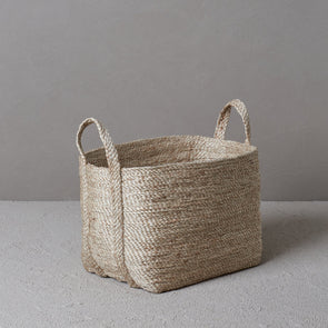 Jute Basket Small - Natural (Pre Order)