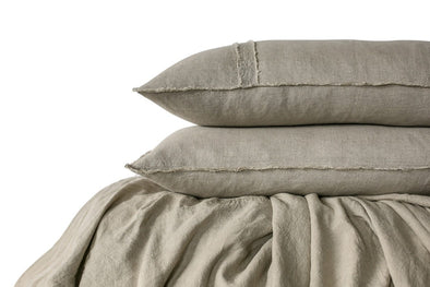 LINEN DUVET SET NATURAL