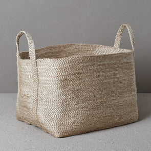 Large Jute Basket - Natural (Pre Order)