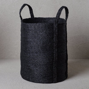 Laundry Jute Basket - Charcoal (Backorder)