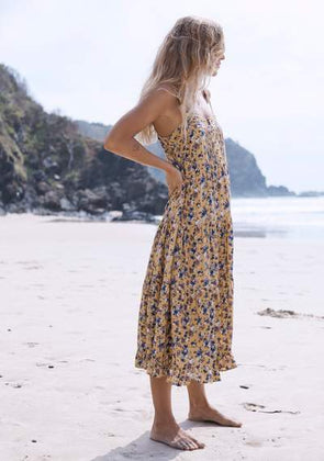 Matilda Market Midi Dress Mango