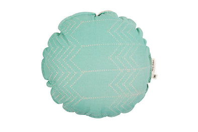 Running Bear Round Cover Mint Green With Inner