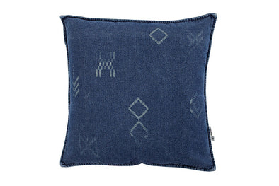 Moroccan Dreams Cushion Denim With Inner