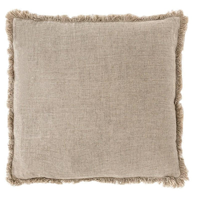 LUCA BOHO CUSHION NATURAL
