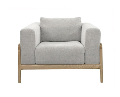 Gustav Chair Pale Grey Marle