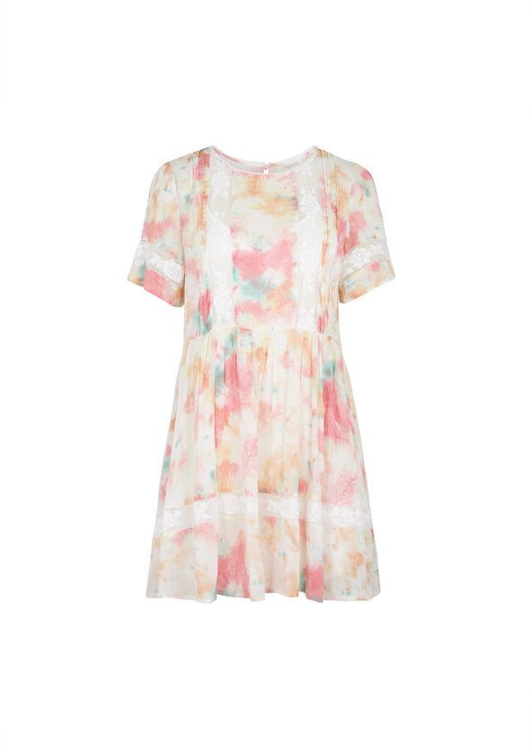 Lumi Wren Mini Dress Off White
