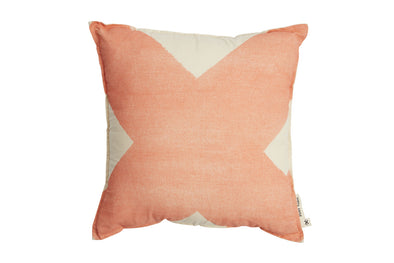 X Cushion Cushion Salmon With Inner