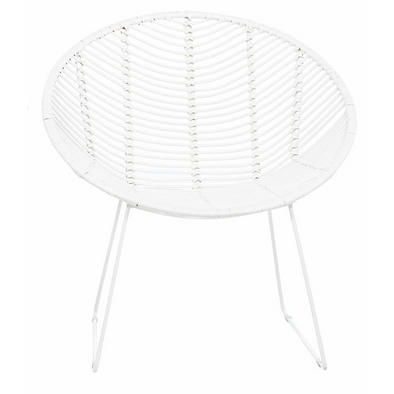 Tango Leaf Occasional Chair White