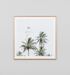 Tropical Lighthouse Print