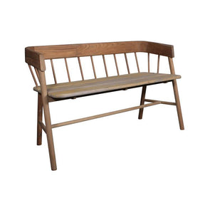 Wooden outdoor bench