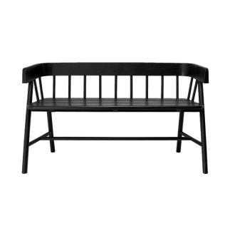 Outside bench black