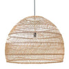 HK Wicker Hanging Lamp Large