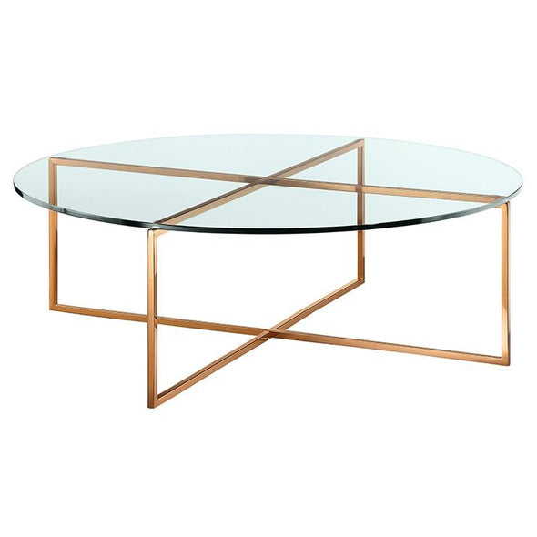 Elle Luxe Round Coffee Tables
