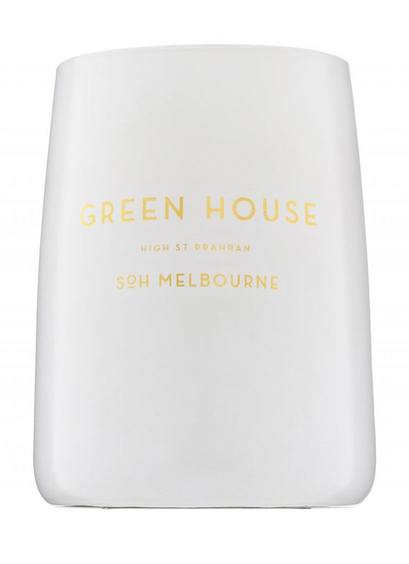 Green House White Matte Candle