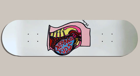 Overrated Kids Skateboard Deck