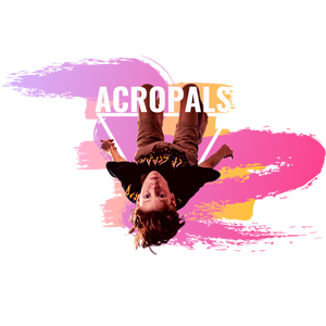 Acrobatics Flipping AcroPals Back Flip Tumbling Back Somersault Acrobatics Kids Acrobatics Classes Acro Merchandise Tees Gymnastics Memes T Shirts Tees