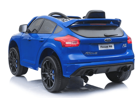 Licensed Ford Focus RS 12v Battery with Remote Control