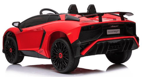 Image of Licensed Lamborghini Aventador SV 12v Battery with Remote Control